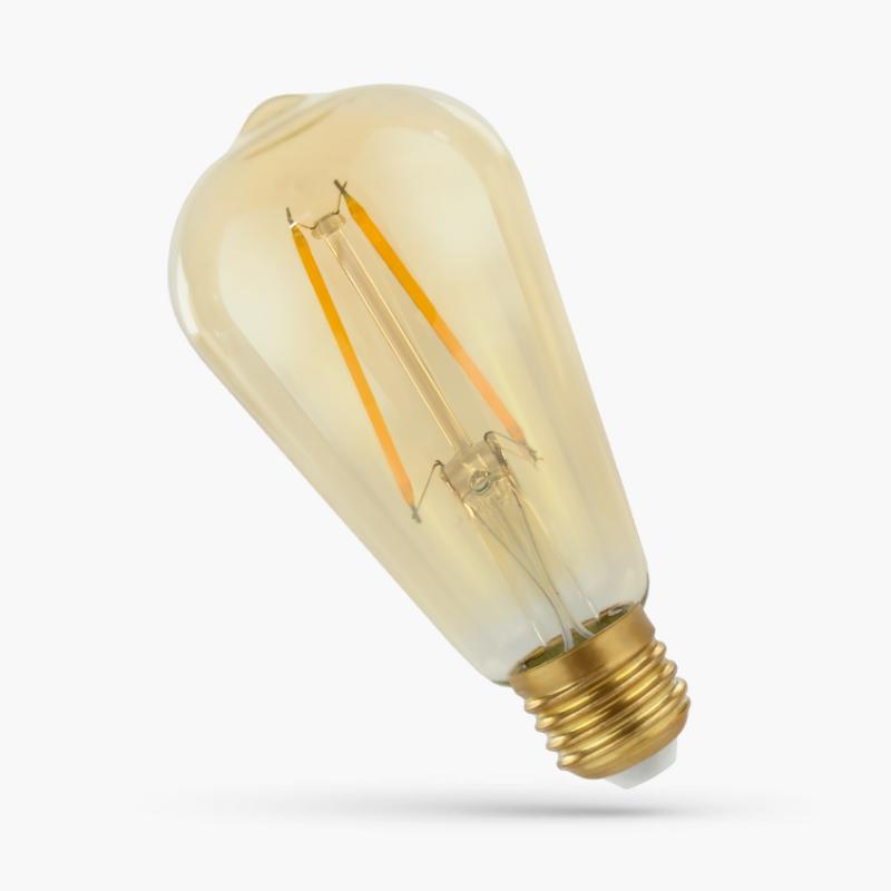 LED ST64 2W E-27 COG RETROSHINE