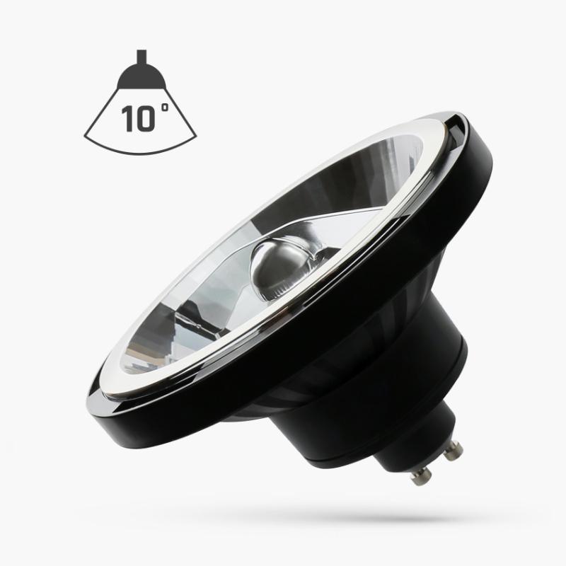 LED AR111 GU10 15W 10° COB