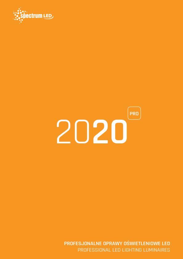 Professional Led Luminaires 2020