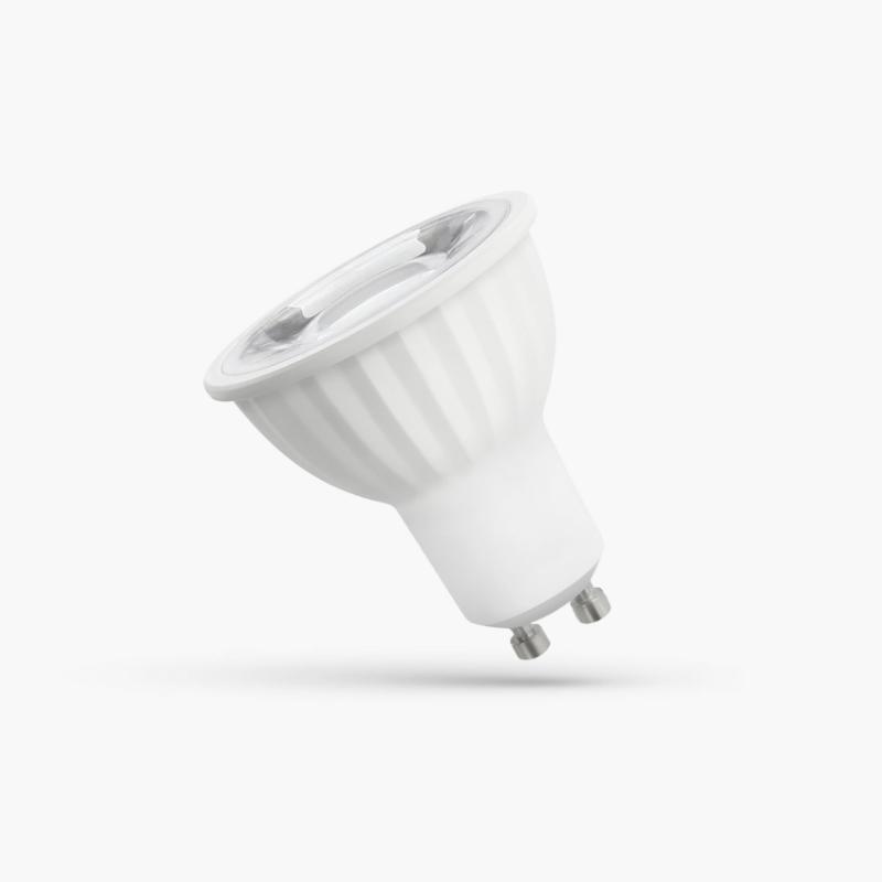 LED GU10 6W 45° WITH LENS WW