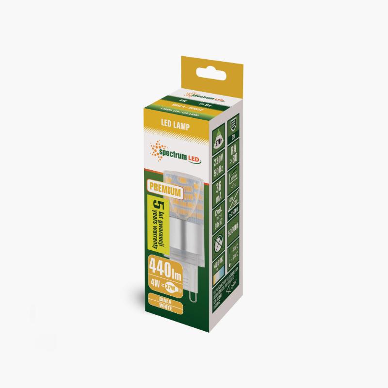 LED G9 4W PREMIUM