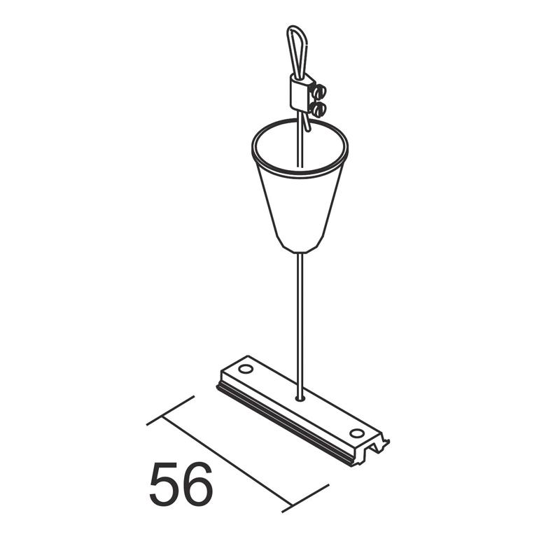 Kit suspensão calha Mini Main